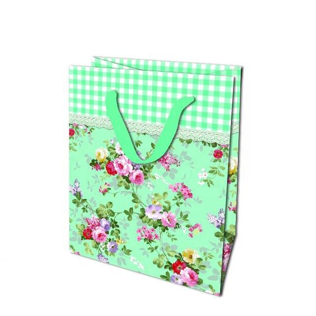2019 Promotion Recyclable Foldable Custom Made Printed Christmas Gift Paper Bag For Birthday Party