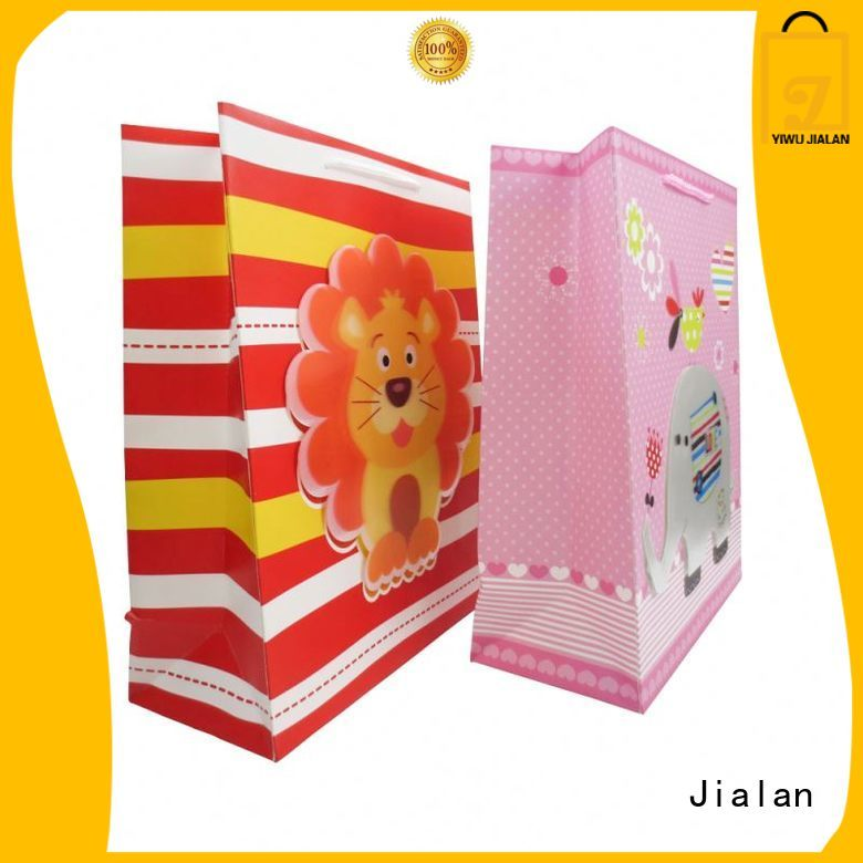 Jialan gift paper bags widely employed for packing gifts