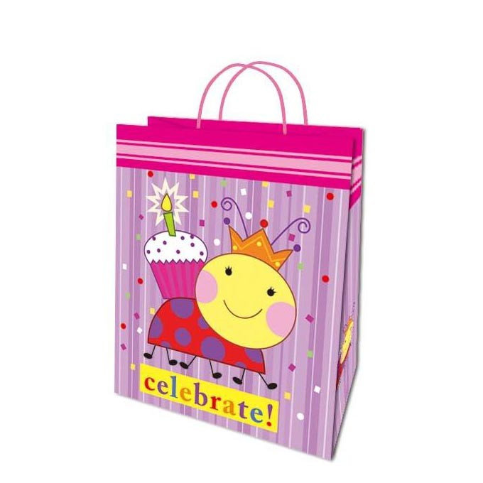 Lovely Cheap Different Size Celebrate Cartoon Animal Birthday Gift Bags
