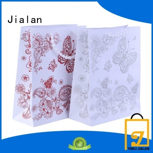 Jialan paper gift bag widely employed for holiday gifts packing