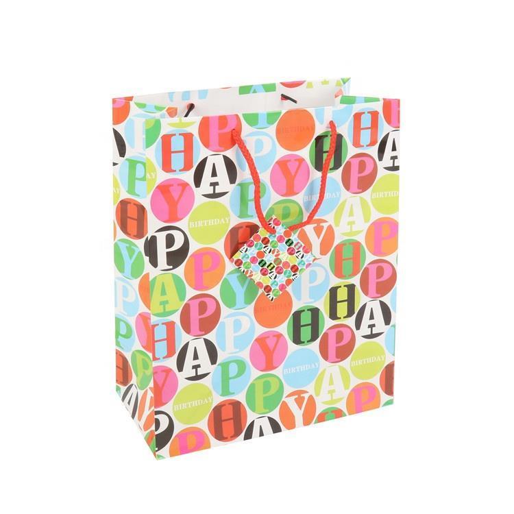 Luxury Custom Logo Printed Foldable Eco-friendly Durable Gift Shopping Paper Bag