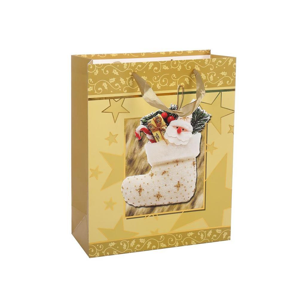 High Quality Foldable Favorable Price Handmade Storage Gift Shopping Paper Bag