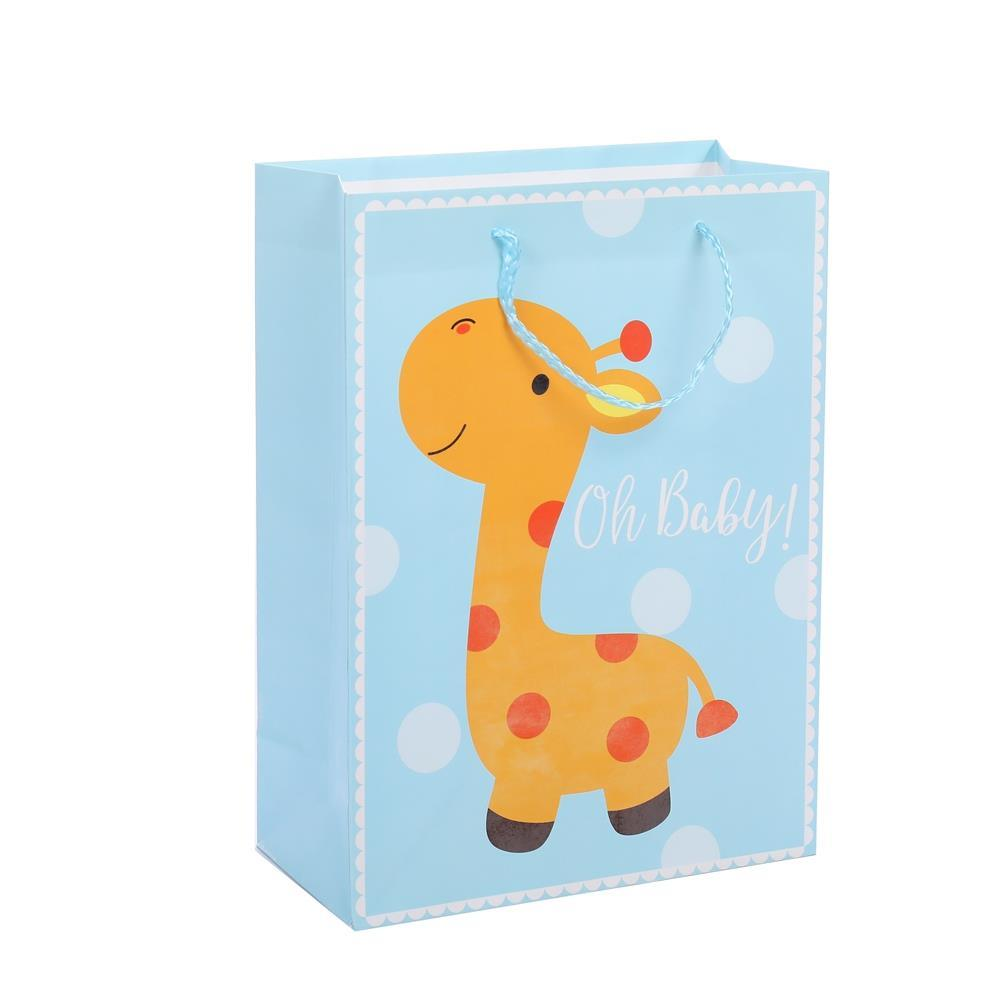 Hot Selling Lovely Animal Elegant Design Foldable Gift Shopping Bags With Handles
