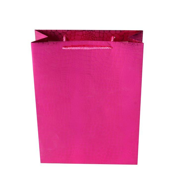 Wholesale High Quality Custom Printed Solid Color Eco-friendly Reusable Shopping Craft Paper Bags