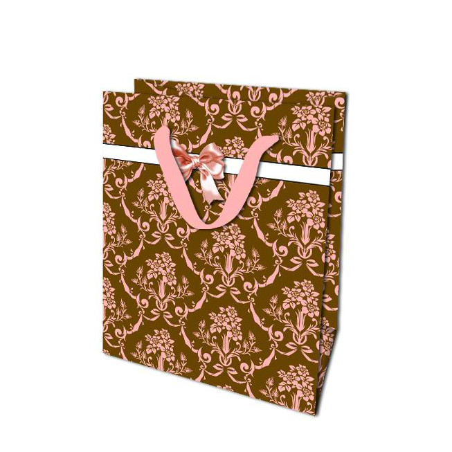 Luxury Durable Custom Logo Printed Wedding Party Handle Paper Gift Bags For Christmas Gift Packaging