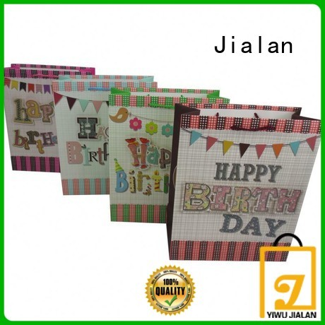 Jialan custom paper bag supplier wholesale for packing birthday gifts