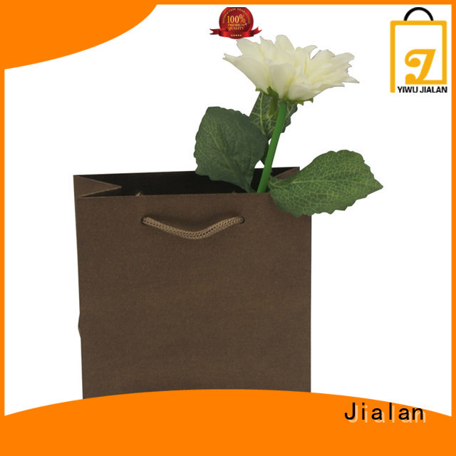 Jialan Eco-Friendly paper carrier bags needed for packing gifts
