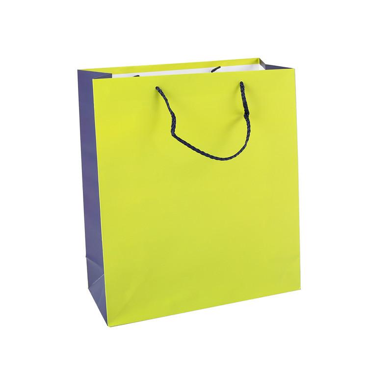 2019 Wholesale Custom Logo Printing Luxury Recycled Double Handle Gift Wrap Bag