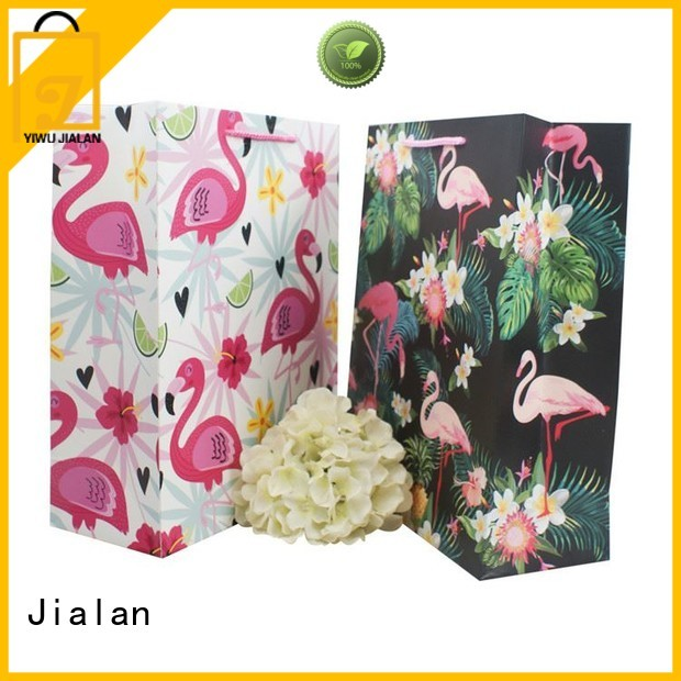 Jialan economical paper carry bags supplier for gift packing
