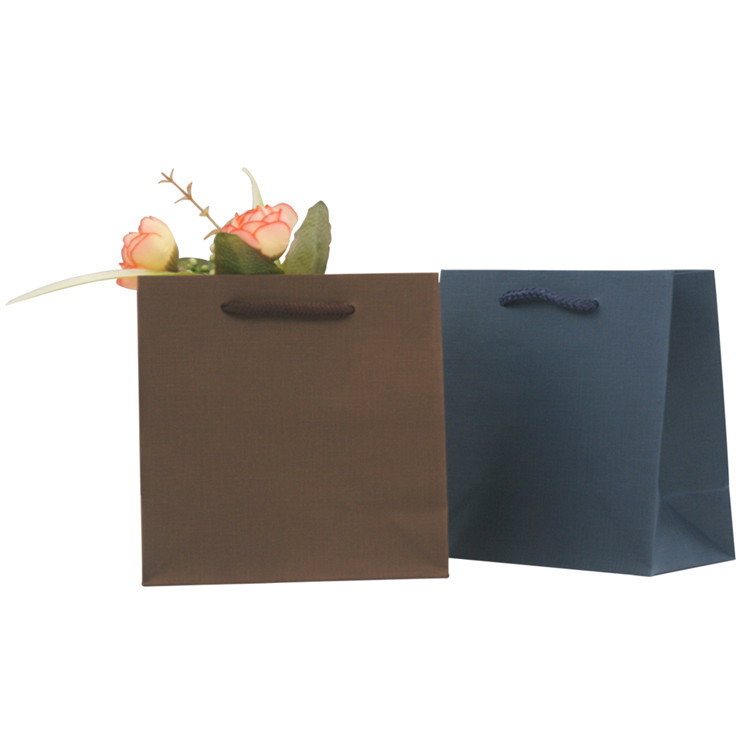 Wholesale Recyclable Eco friendly Large Kraft Custom Carry Craft Printed Shopping Kraft Paper Bag