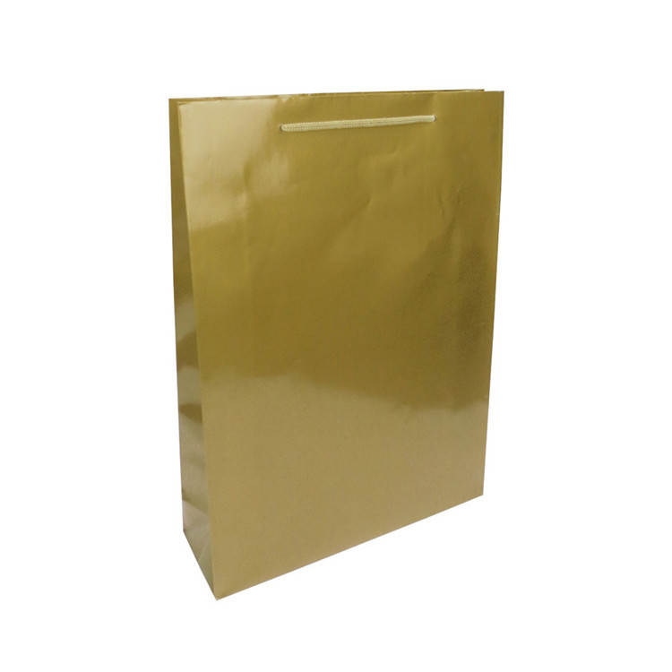 Manufacture Wholesale Promotional Cheap Small Kraft Paper Carrier Bag