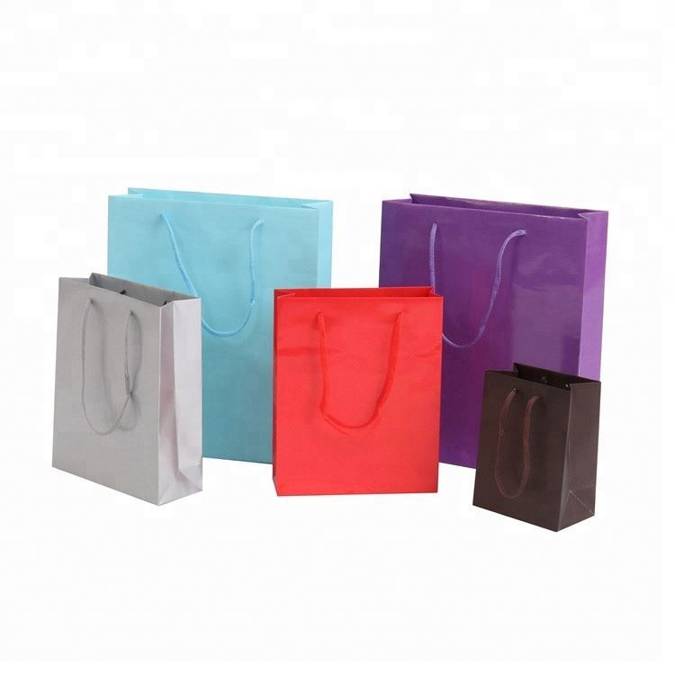 Factory cheap high quality paper gift bag printing advertising paper bag for gift