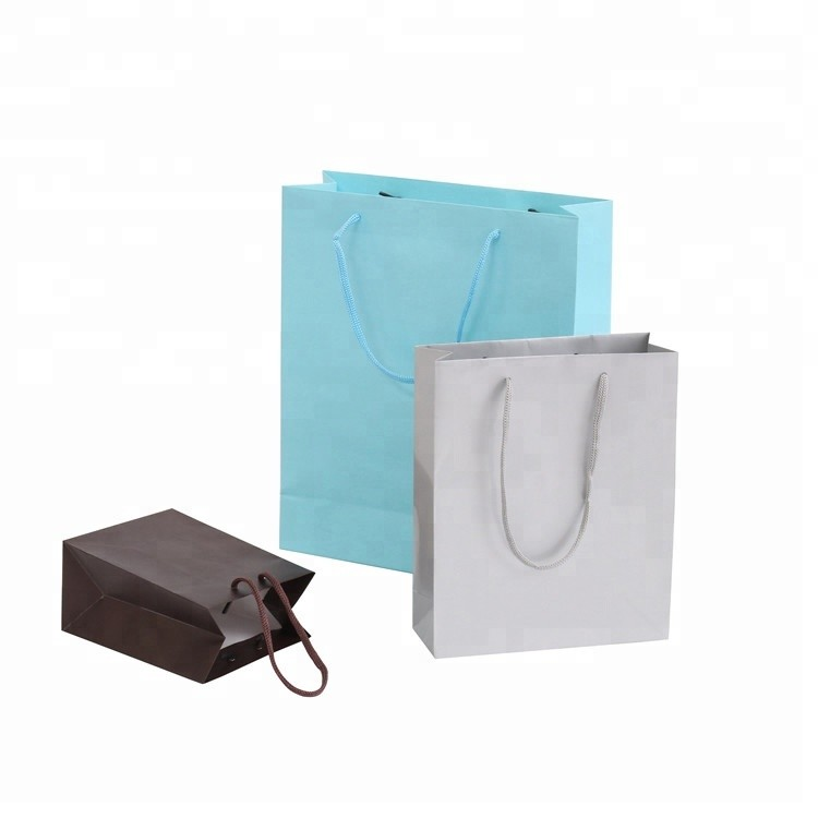 Wholesale promotion handmade Creative wedding paper gift bags christmas gift paper bag