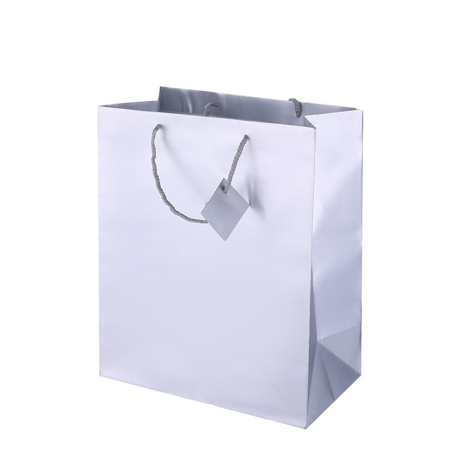 High Quality Custom Logo Printing Reusable Foldable Paper Gift Bag