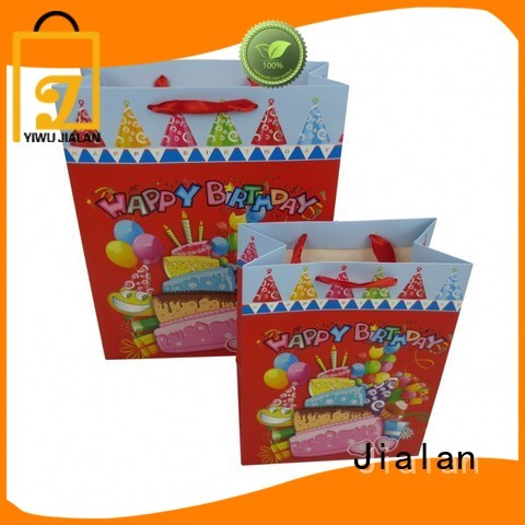 Jialan personalized gift bags company for packing birthday gifts