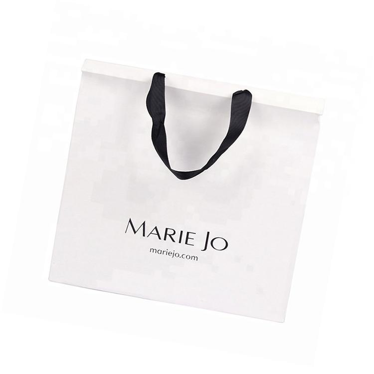 Wholesale Custom Size Logo Printing Eco-friendly Advertising Custom Gift Shopping Paper Bag