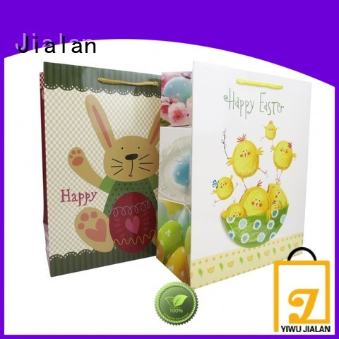 Jialan paper bag company factory for holiday gifts packing