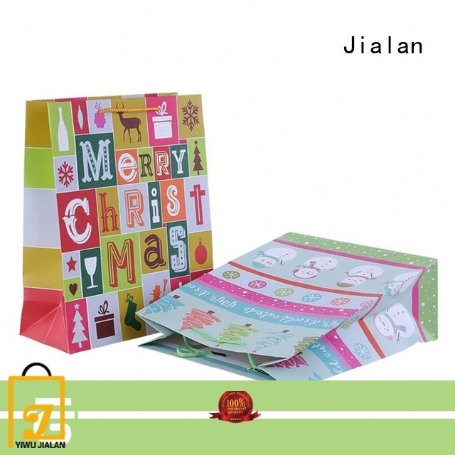 Jialan personalized gift bags widely applied for holiday gifts packing