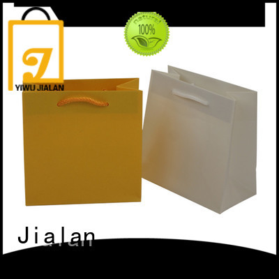 Jialan paper gift bags widely employed for gift packing