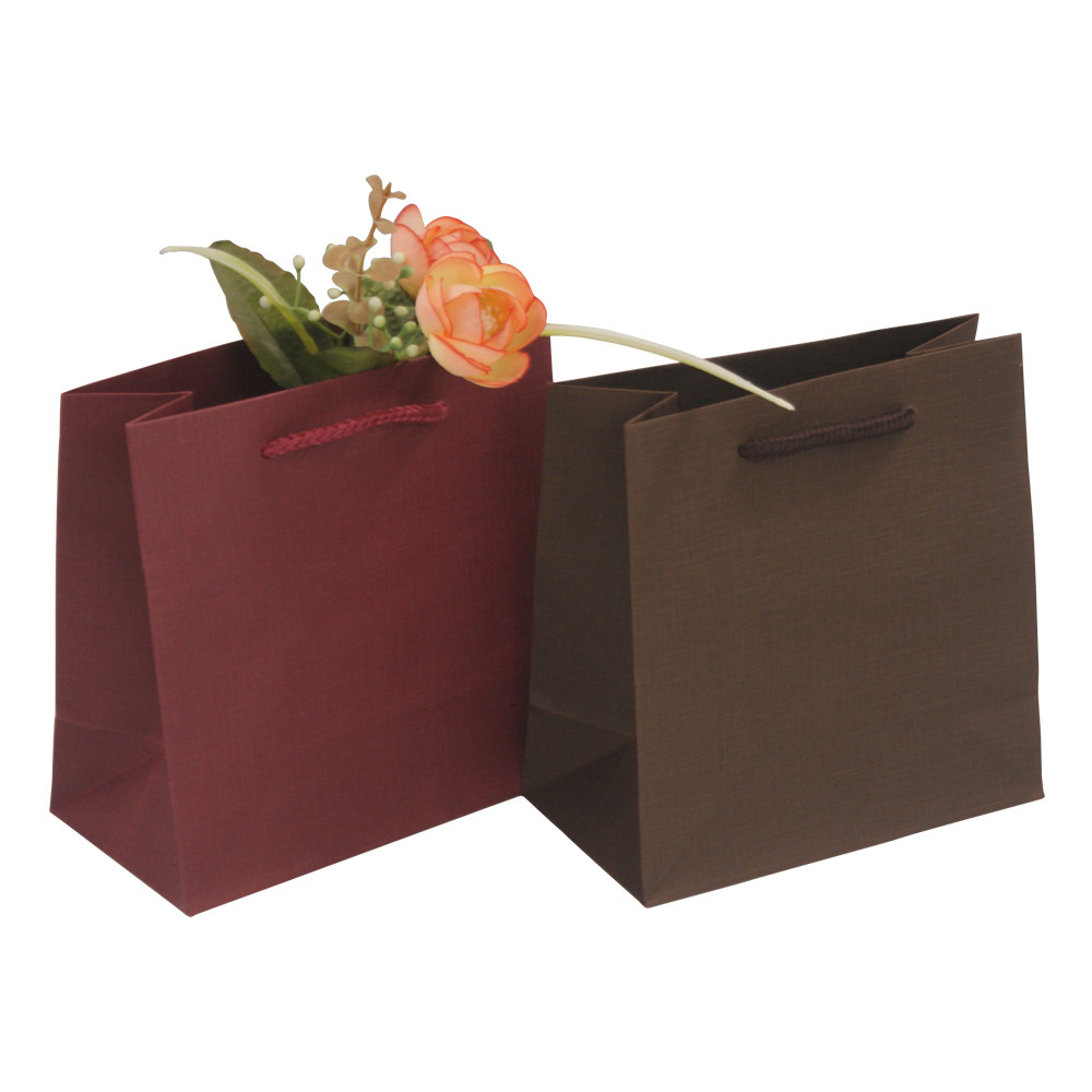 Excellent quality custom kraft paper shopping bag with handles kraft paper packaging bag
