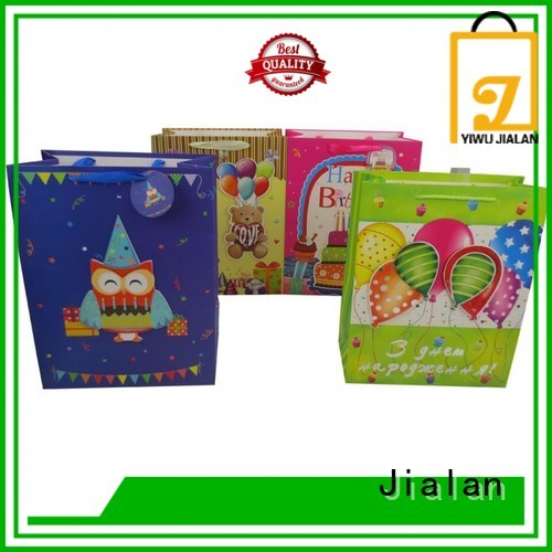 Jialan economical personalized paper bags needed for packing gifts