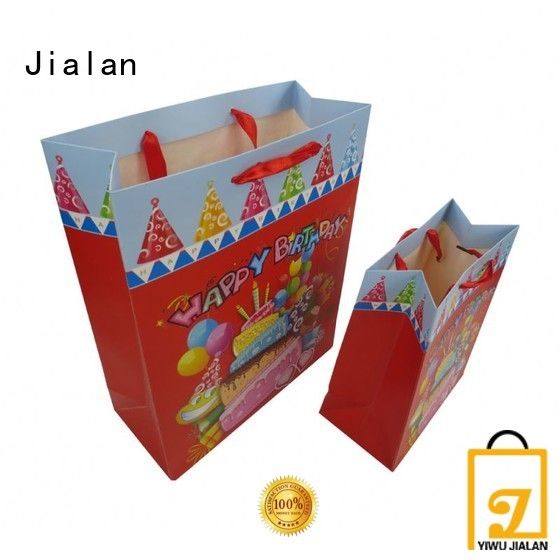 Jialan personalized paper bags widely employed for gift packing