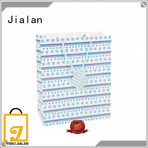 Jialan paper gift bag factory for gift packing