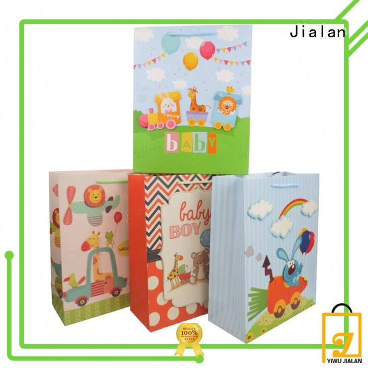 Jialan gift paper bags vendor for holiday gifts packing