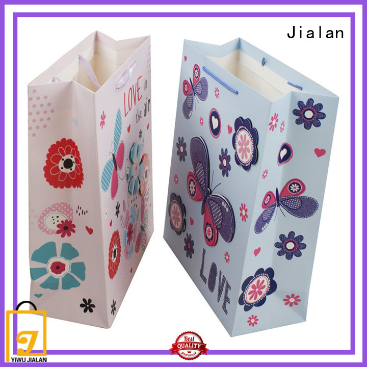 Jialan custom gift bag wholesale for packing gifts