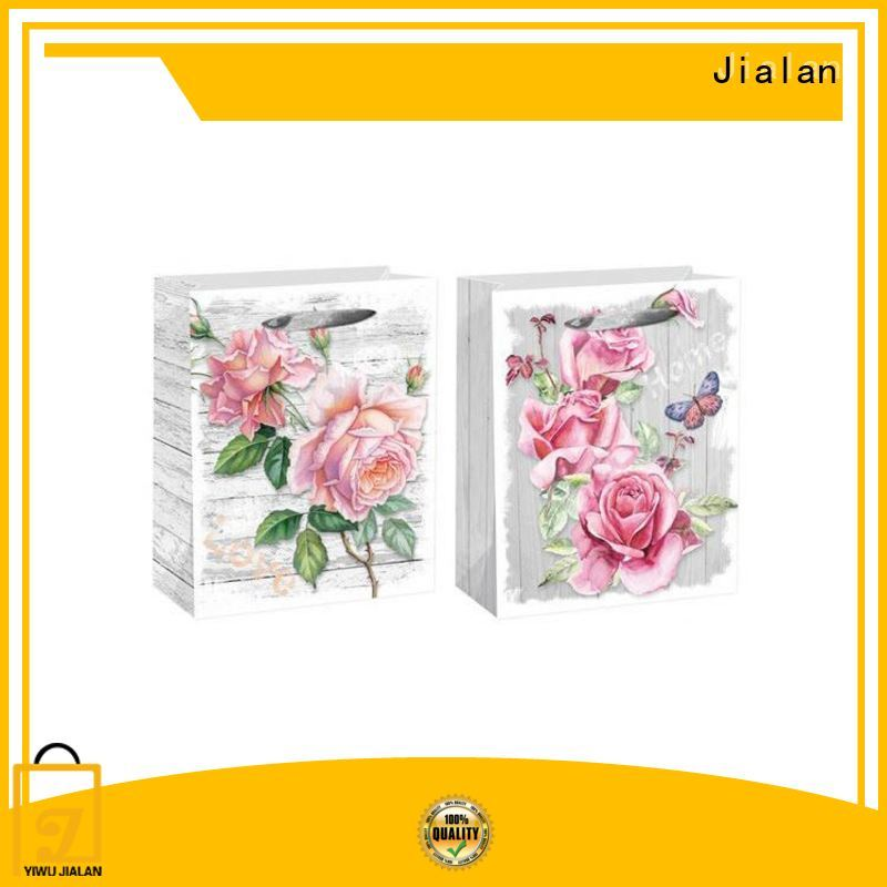 Jialan personalized gift bags widely employed for holiday gifts packing