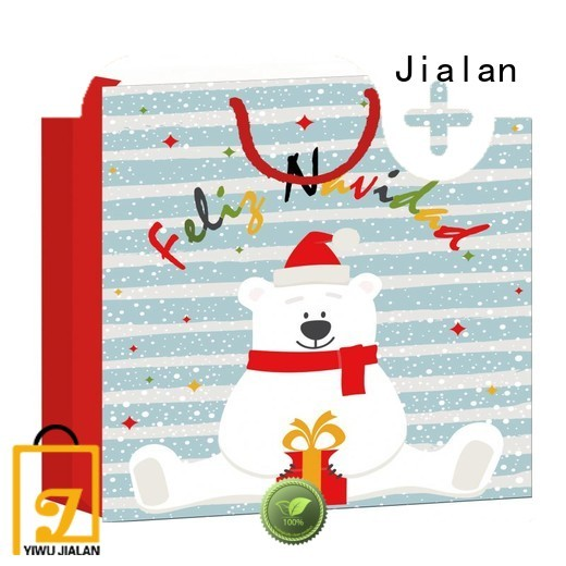 Jialan gift paper bags widely employed for packing birthday gifts
