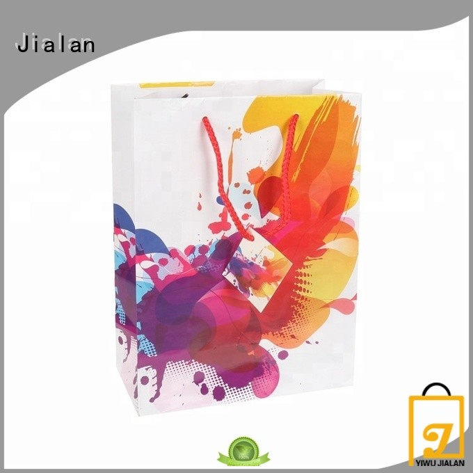 Jialan paper bag vendor for packing birthday gifts