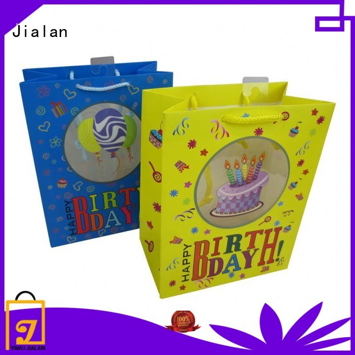 Jialan wholesale gift bags wholesale for packing birthday gifts