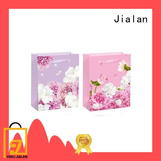 Jialan paper bags wholesale widely employed for packing birthday gifts