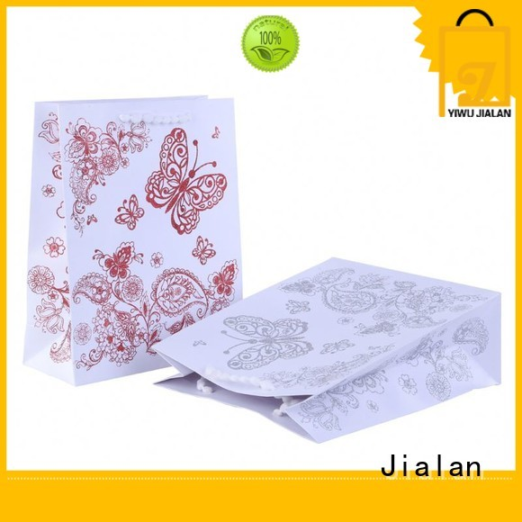 Jialan exquisite paper gift bags needed for packing birthday gifts