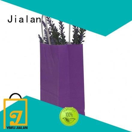 Jialan paper bag manufacturer for packing birthday gifts