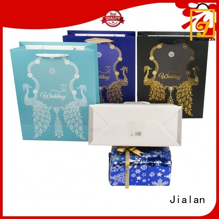 Jialan best price paper gift bags very useful for holiday gifts packing