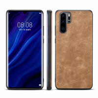 Wholesale Classical PU Leather Phone Case Back Cover for Huawei P30 Pro