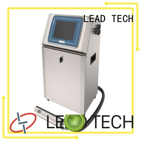 LEAD TECH inkjet solvent good heat dissipation for beverage industry printing