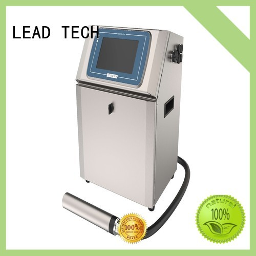 LEAD TECH inkjet continuous ink system good heat dissipation for drugs industry printing
