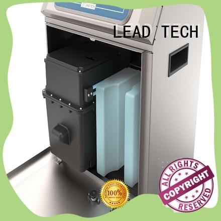 LEAD TECH continuous ink printer company for tobacco industry printing