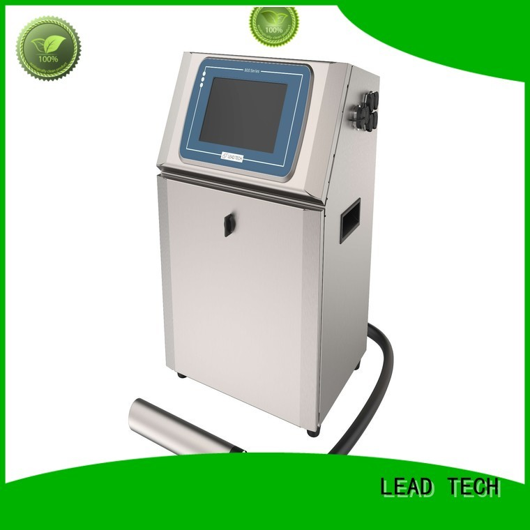 LEAD TECH high-quality laser printer vs inkjet uk easy-operated for beverage industry printing