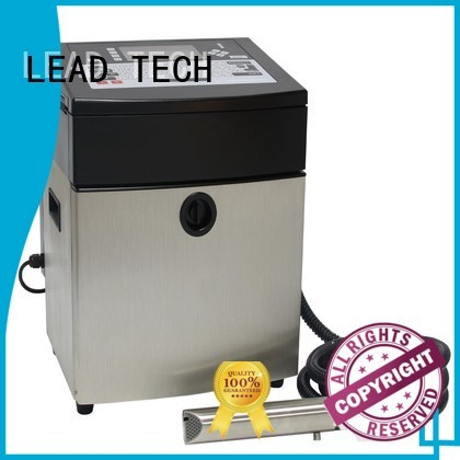 LEAD TECH continuous inkjet company for auto parts printing