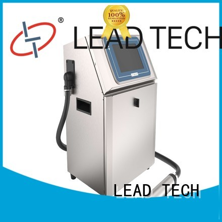 LEAD TECH commercial cij inkjet OEM for building materials printing
