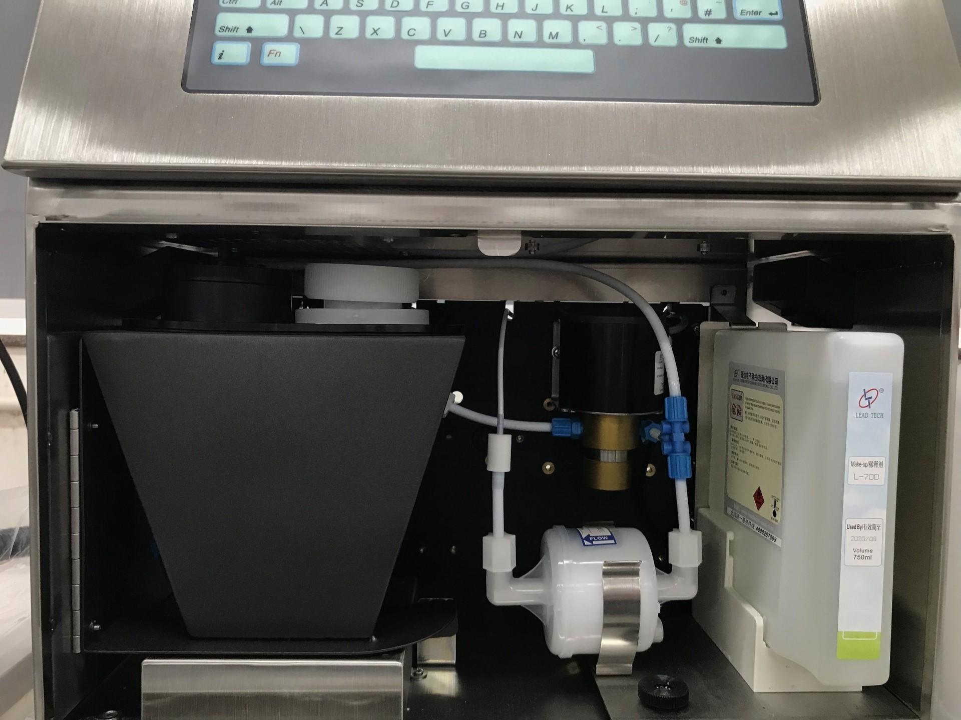 Lead Tech Lt1000s+ Beer Glass Bottle Cij Inkjet Printer