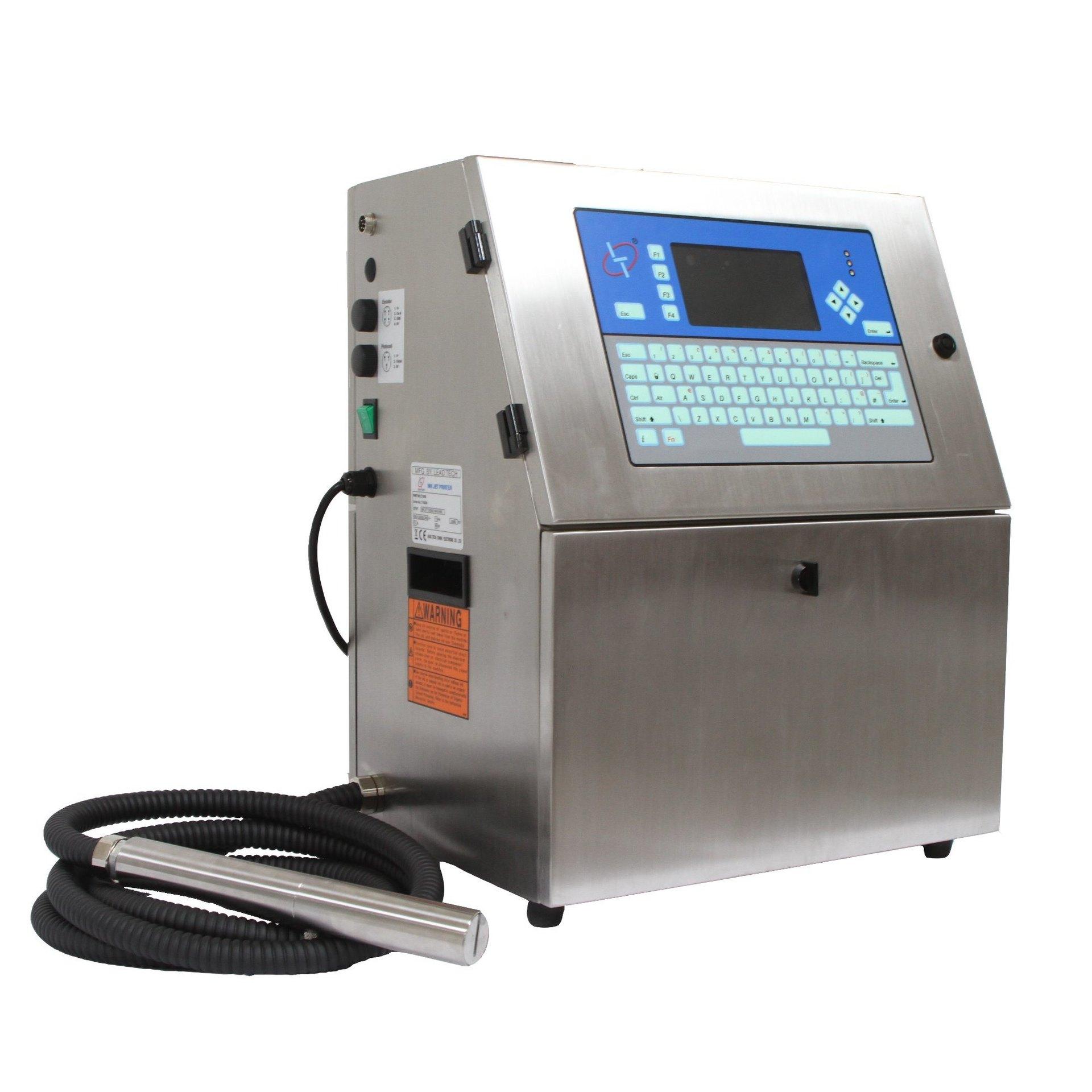 Lead Tech Lt1000s+ Reverse Printing Cij Inkjet Printer