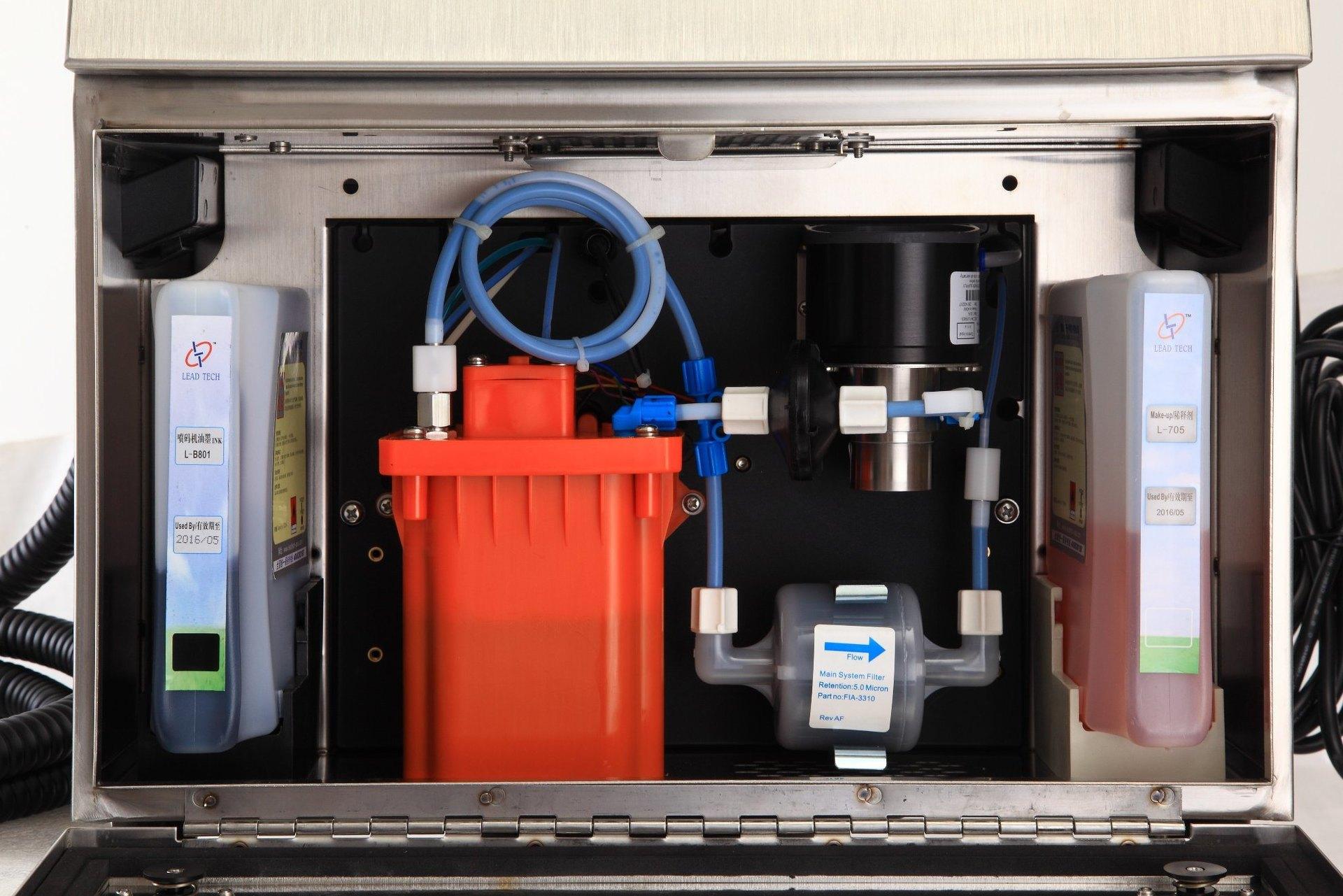 Lead Tech Lt1000s+ PVC Pipe Coding Cij Inkjet Printer