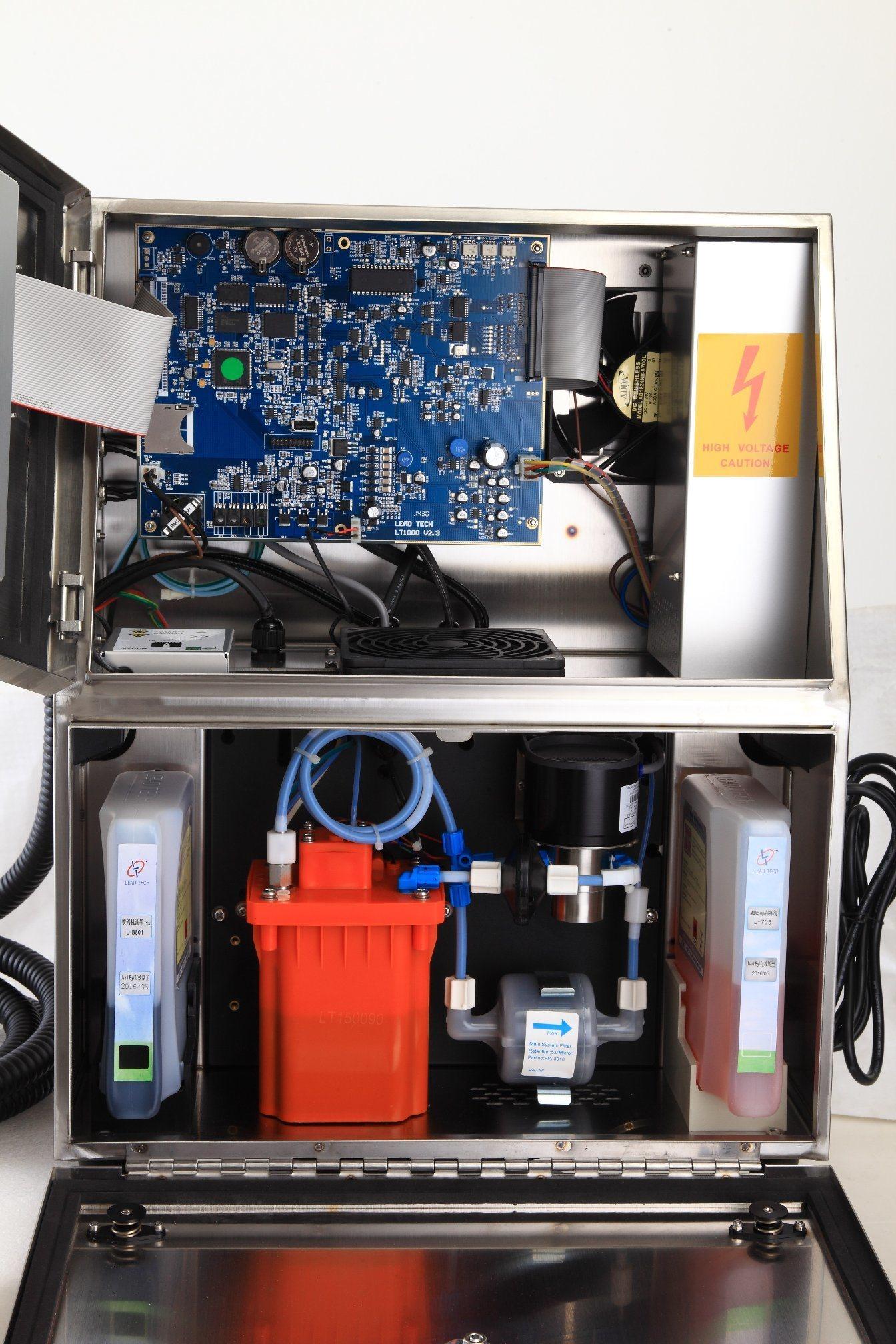 Lead Tech Lt1000s+ PE Pipe Coding Cij Inkjet Printer