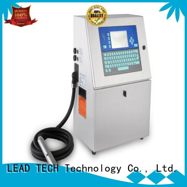 LEAD TECH is inkjet a laser printer company for pipe printing
