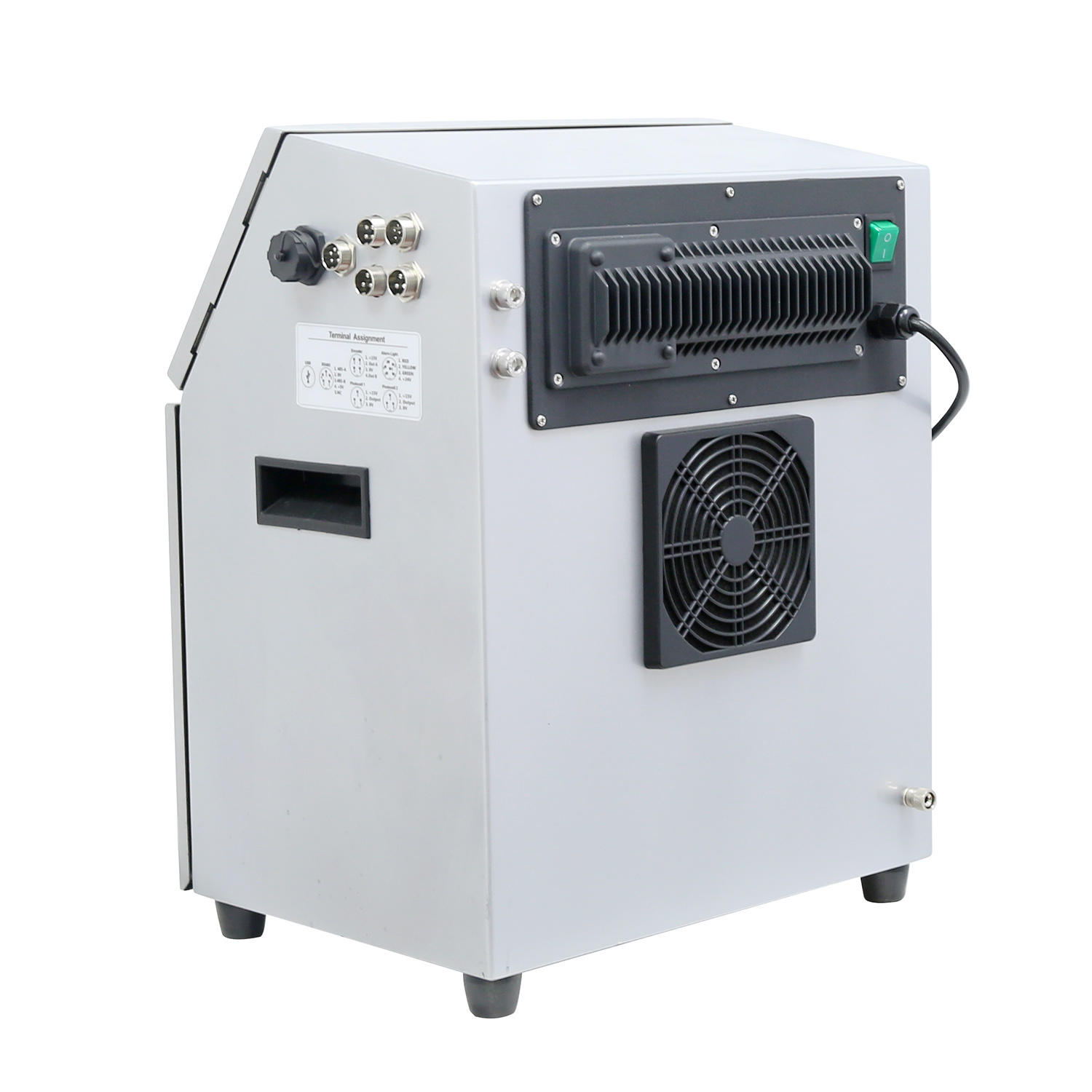 Lead Tech High Speed Digital Touch Screen Qr Code Cij Printing Machine for Cables, PVC Pet Bottles